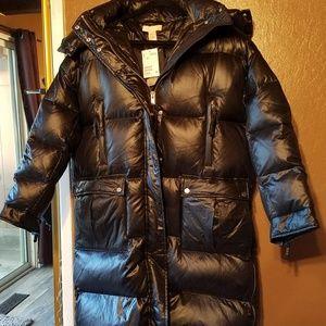 H&M Long Down Jacket - NWT